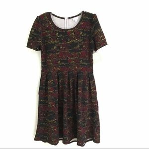 "NWT LuLaRoe ""Amelia"" skater dress XL"